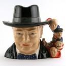 Sir Winston Churchill (Ray Noble Ceramics) - Large - Royal Doulton Character Jug