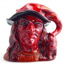 Witch D7239 (Flambe) - Large - Royal Doulton Character Jug
