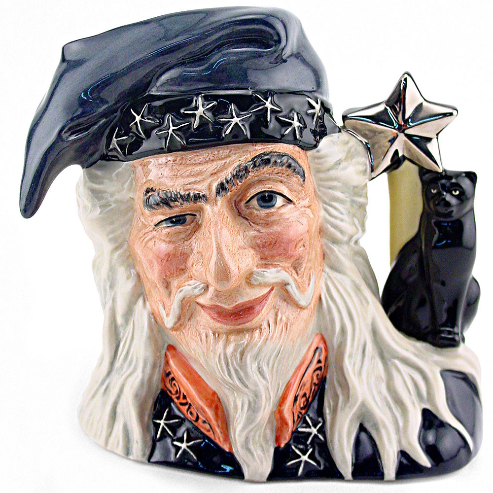 Wizard D6862 - Large - Royal Doulton Character Jug