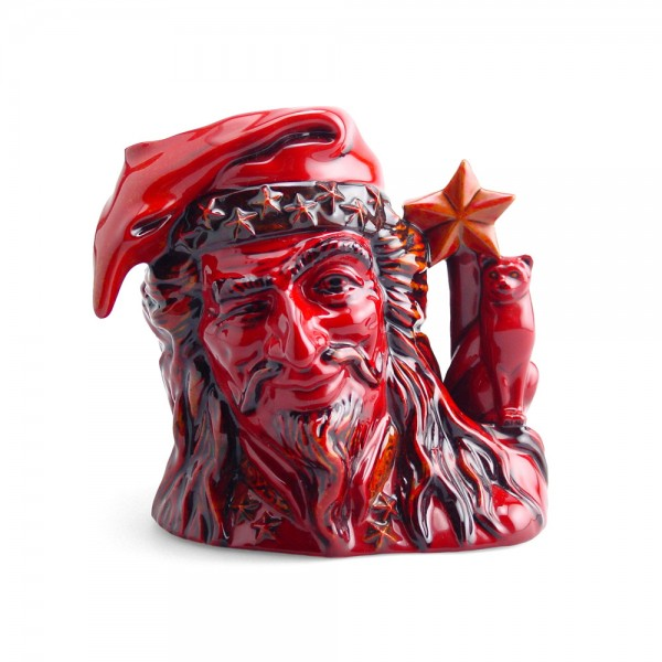 Wizard D7240 (Flambe) - Large - Royal Doulton Character Jug