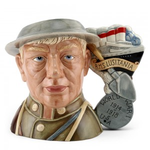 World War I D7267 - Large - Royal Doulton Character Jug