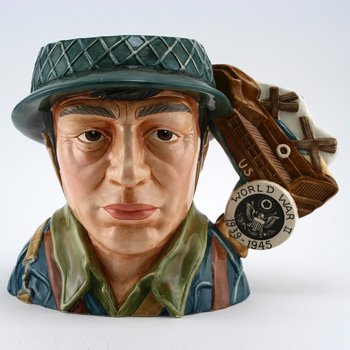 World War II D7268 - Large - Royal Doulton Character Jug
