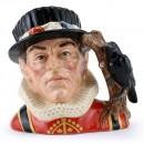 Yeoman of the Guard Higbee Backstamp D6884 - Large - Royal Doulton Character Jug