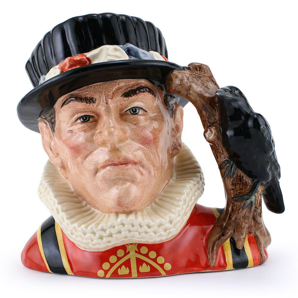 Yeoman of the Guard Higbee Backstamp D6884 - Large - Royal Doulton Character Jug