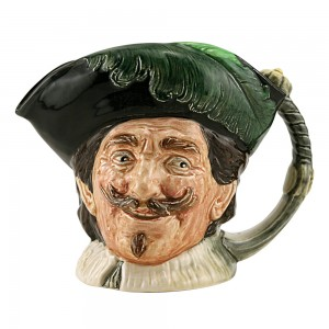 Cavalier with Goatee D6114 Large D6114 - Large - Royal Doulton Character Jug