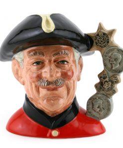 Chelsea Pensioner - Holmes Backstamp - Large Character Jug