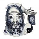 Confucius (Blue Flambe) - Large - Royal Doulton Character Jug