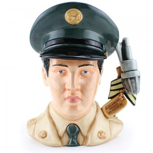 Elvis GI Blues EP9 - Large - Royal Doulton Character Jug