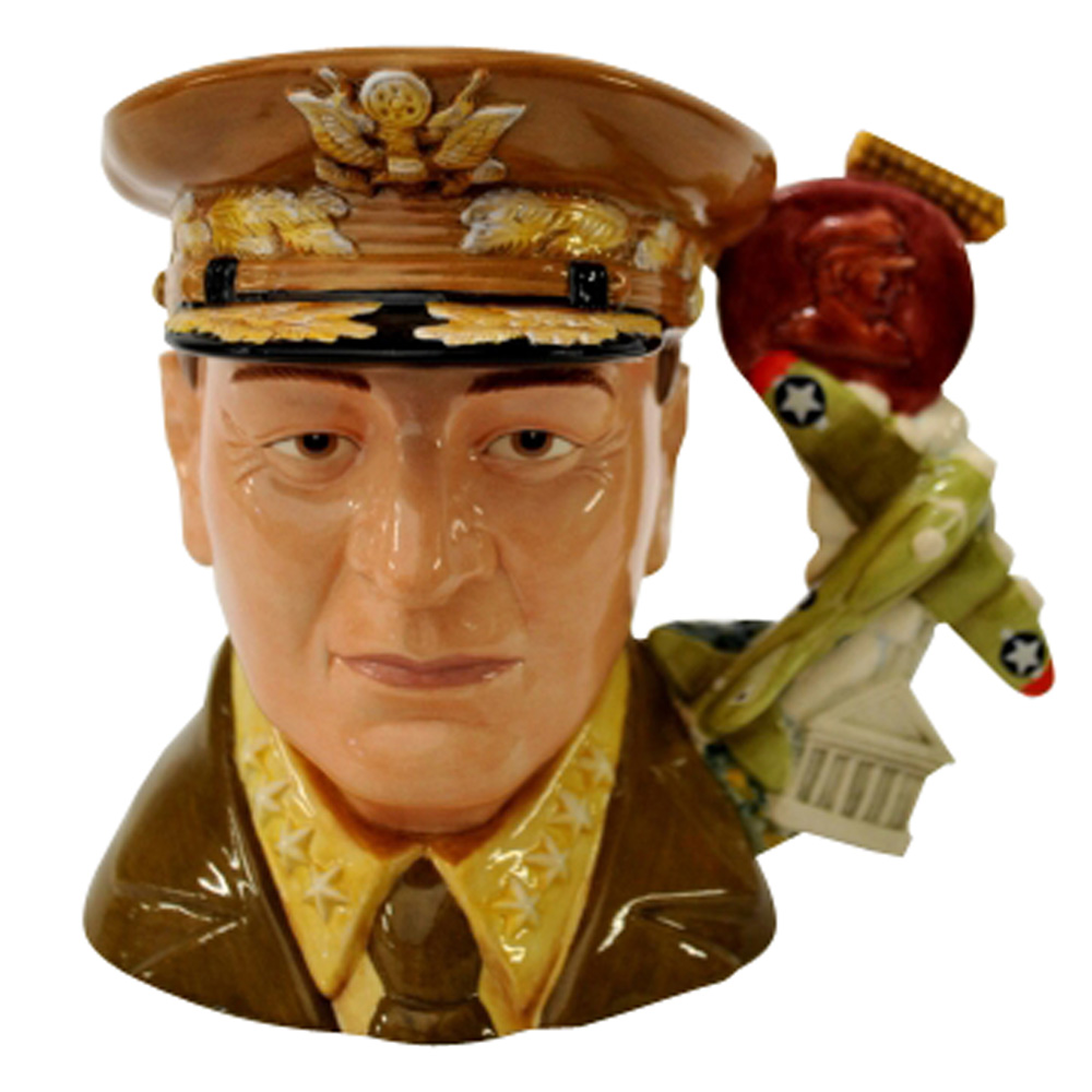 General MacArthur D7264 - Large - Royal Doulton Character Jug