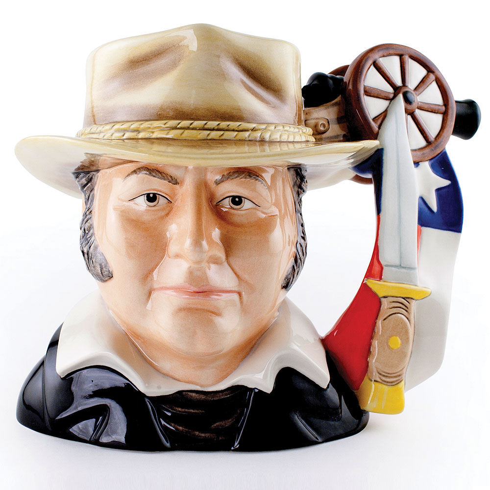 Jim Bowie D7291 - Large - Royal Doulton Character Jug