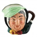 Sairey Gamp D5528 Bone China - Small - Royal Doulton Character Jug