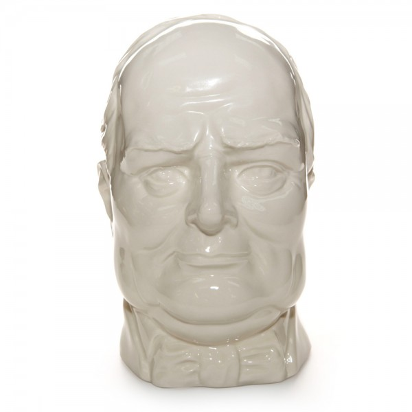 Peggy Davies - Winston Churchill - Double Handle - Large Character Jug