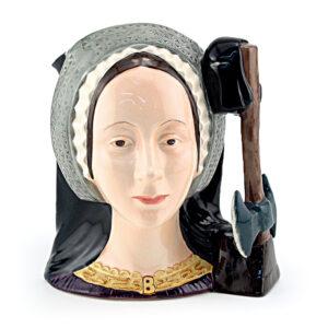 Anne Boleyn D6651 - Mini - Royal Doulton Character Jug