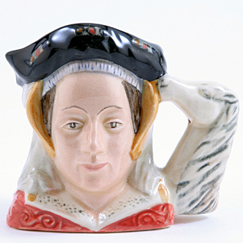 Anne of Cleves D6754 - Mini - Royal Doulton Character Jug
