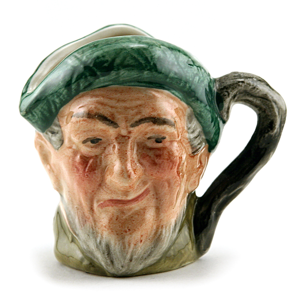 Auld Mac D6253 (Bone China) - Mini - Royal Doulton Character Jug