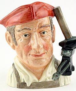 Blacksmith D6585 - Mini - Royal Doulton Character Jug