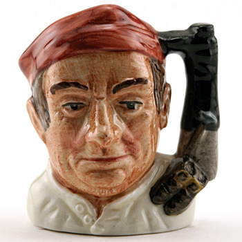 Bootmaker D6586 (Bone China) - Mini - Royal Doulton Character Jug