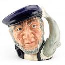 Capt Ahab D6522 - Mini - Royal Doulton Character Jug