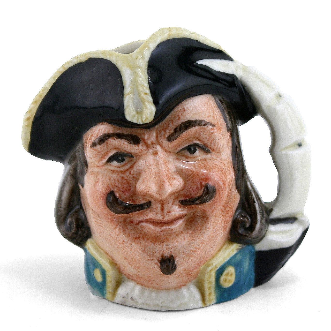 Capt Henry Morgan D6510 (Bone China) - Mini - Royal Doulton Character Jug
