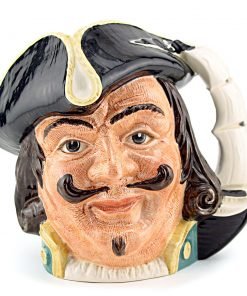 Capt Henry Morgan D6510 - Mini - Royal Doulton Character Jug