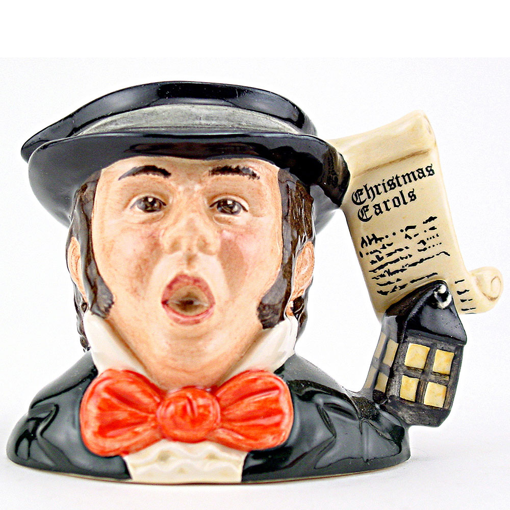 Caroler D7007 - Mini - Royal Doulton Character Jug