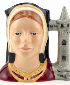 Catherine Aragon D6658 - Mini - Royal Doulton Character Jug