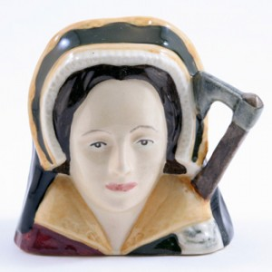 Catherine Howard D6693 - Mini - Royal Doulton Character Jug