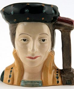 Catherine Parr D6752 - Mini - Royal Doulton Character Jug