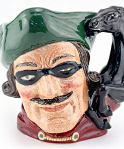 Dick Turpin D6542 (Horse Handle) - Mini - Royal Doulton Character Jug
