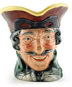 Dick Turpin D6128 (Pistol Handle) - Mini - Royal Doulton Character Jug