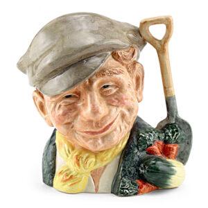 Gardener D6638 - Mini - Royal Doulton Character Jug