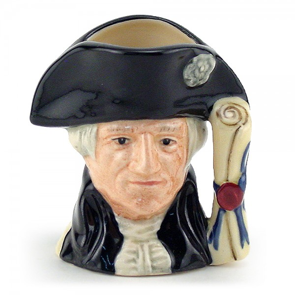 George Washington D6825 - Mini - Royal Doulton Character Jug