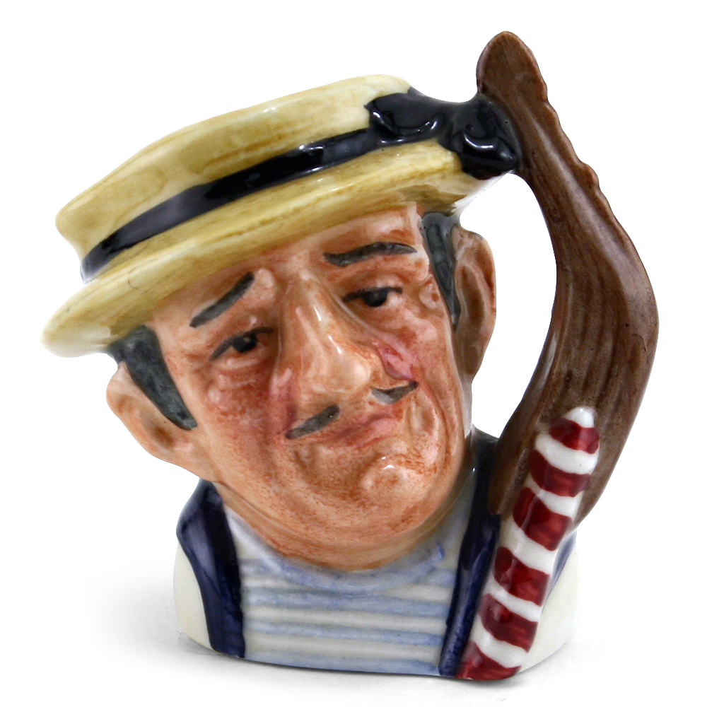 Gondolier D6595 (Bone China) - Mini - Royal Doulton Character Jug