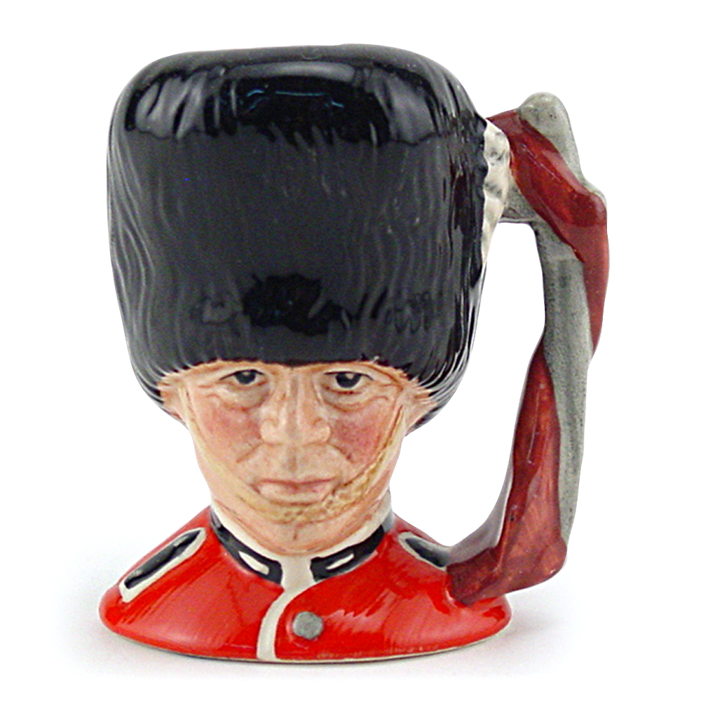 Guardsman D6772 - Mini - Royal Doulton Character Jug