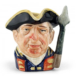 Guardsman from Williamsburg D6582 - Mini - Royal Doulton Character Jug