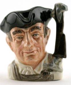 Gunsmith D6587 (Bone China) - Mini - Royal Doulton Character Jug