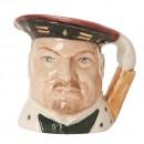 Henry VIII Color Variation - Mini - Royal Doulton Character Jug