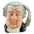 Lawyer D6524 - Mini - Royal Doulton Character Jug