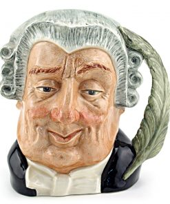 Lawyer D6524 - Mini - Royal Doulton Character Jug