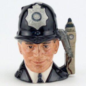 London Bobby D6763 (Non Embossed) - Mini - Royal Doulton Character Jug
