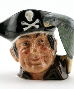 Long John Silver D6512 (Bone China) - Mini - Royal Doulton Character Jug