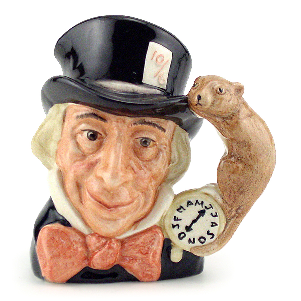 Mad Hatter D6606 - Mini - Royal Doulton Character Jug