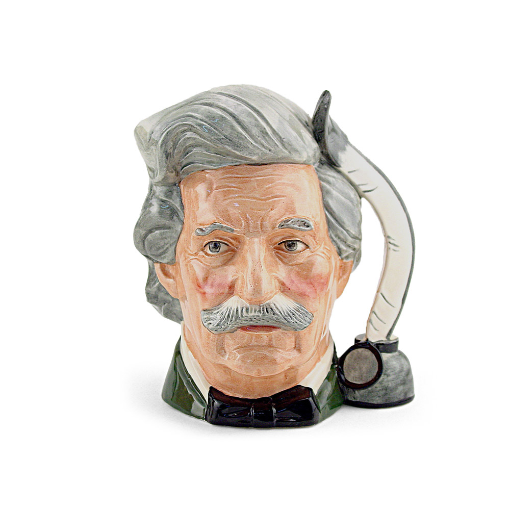 Mark Twain D6758 - Mini - Royal Doulton Character Jug