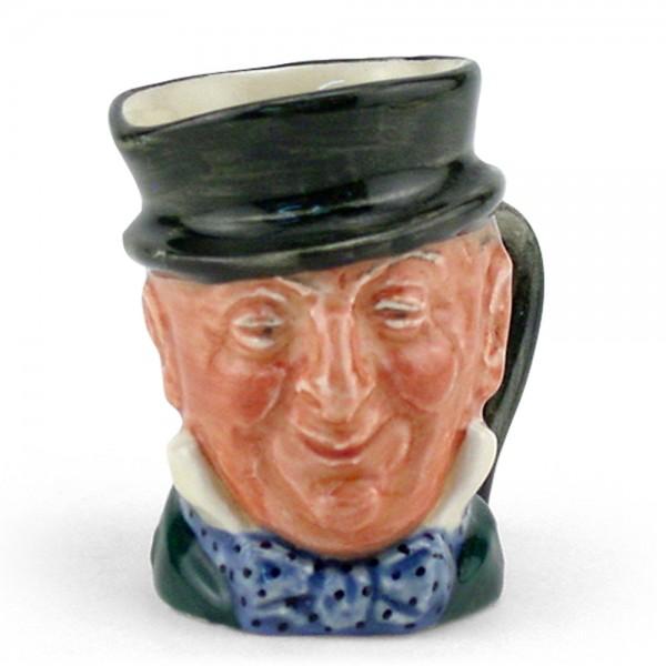 Mr. Micawber D6138 - Mini - Royal Doulton Character Jug