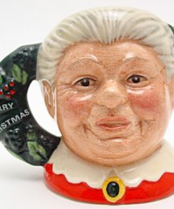 Mrs. Claus D6922 - Mini - Royal Doulton Character Jug