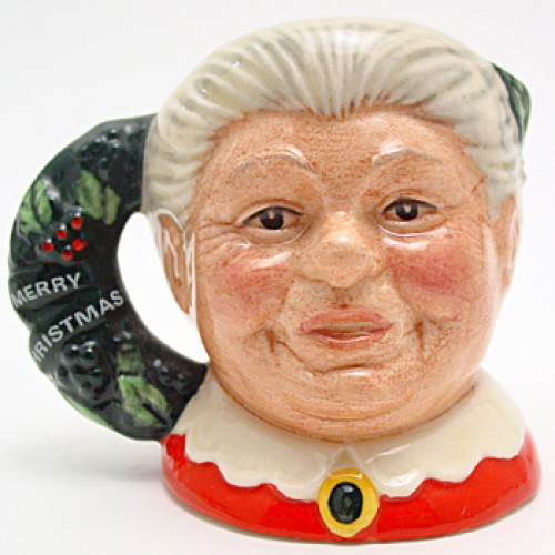 Mrs. Claus D6922 - Mini - Royal Doulton Character Jug