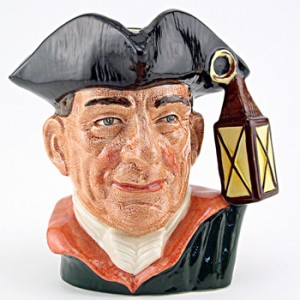 Night Watchman D6583 - Mini - Royal Doulton Character Jug