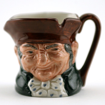 Old Charley D6046 (Bone China) - Mini - Royal Doulton Character Jug