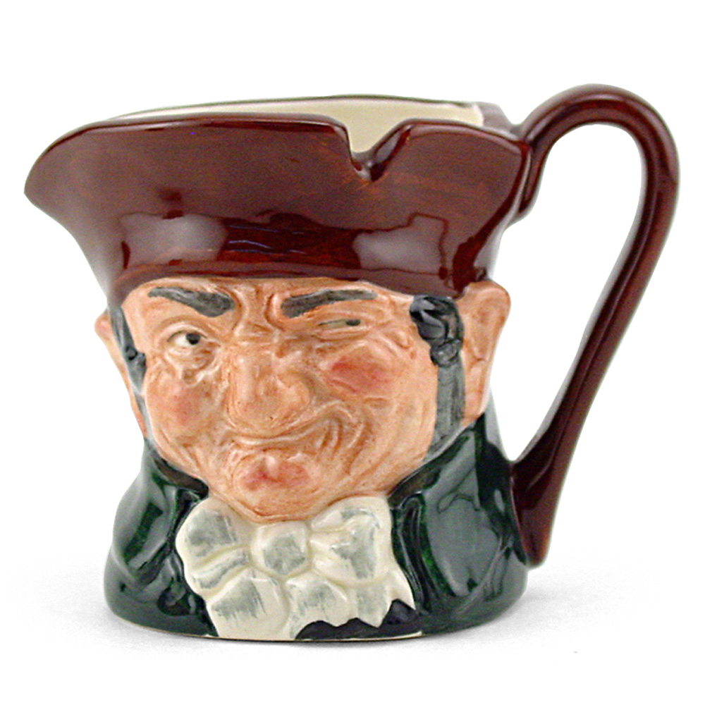 Old Charley D6046 - Mini - Royal Doulton Character Jug