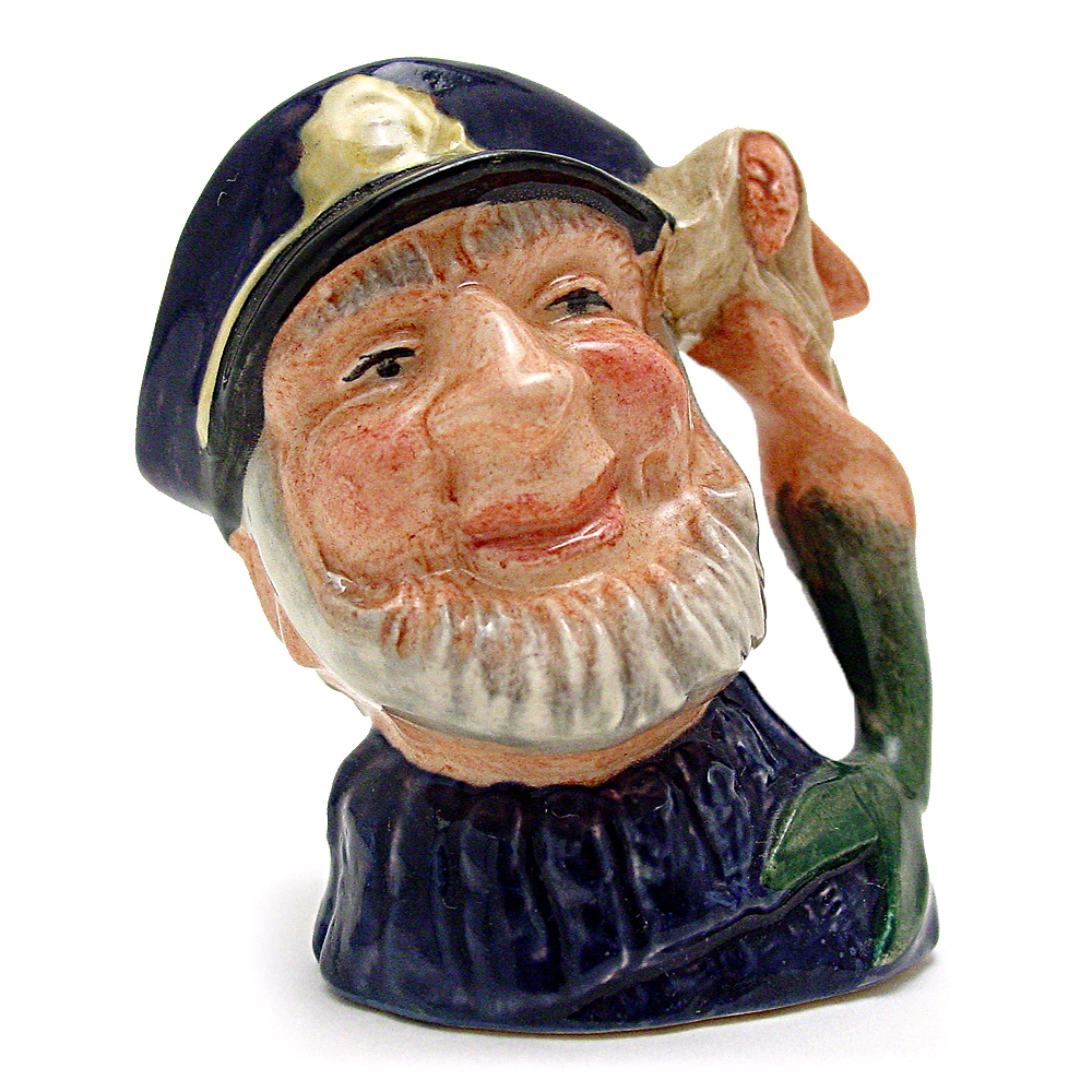 Old Salt D6557 - Mini - Royal Doulton Character Jug